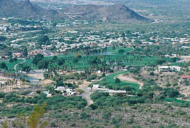 Queen Valley Golf Course In Queen Valley