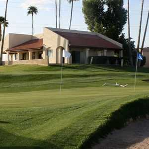 Royal Palms GC: Practice area