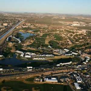 Stadium at TPC Scottsdale: Aerial view