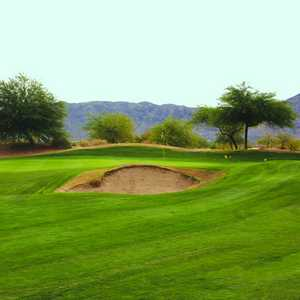 Aguila Nine GC: View of the bunker