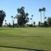 A sunny day view from Desert Sands Golf Course.