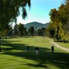 A view from a tee at Orange Tree Golf Club.