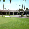 A view of the clubhouse at Palmbrook Country Club