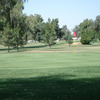 A view of a green at Glen Lakes Golf Course.