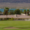 A view of hole #5 at West Course from Lake Havasu Golf Club.