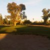 A sunset view of a hole at Shalimar Country Club