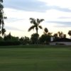 A view of a hole at Royal Palms Golf Course