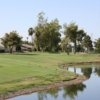 A view over the water from Royal Palms Golf Course