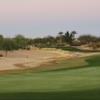 A view of the 13th green at Palms Course from Palm Valley Golf Club