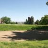 View of a bunkered green at Cerbat Cliffs Golf Course