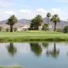 A view over the water from Mesa Del Sol Golf Course