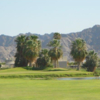A view of a hole at Mesa Del Sol Golf Course