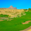 View of the 16th hole with the Sombrero Peak in the background.