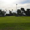 A view of a fairway at Palmbrook Country Club.