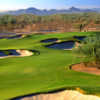 A view of the 16th hole at Wildfire Golf Club - Desert Ridge - Faldo Course