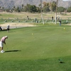 A view of the putting green at Ahwatukee Golf Club - Lakes