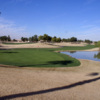A view of hole #14 at Vistas Course from Westbrook Village Golf Club.