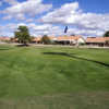 A view of the 14th hole at Lakes Course from Westbrook Village Golf Club.
