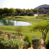 A view from Scottsdale Silverado Golf Club with clubhouse in  right background