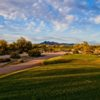 A view from a tee at Tatum Ranch Golf Club.