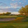 A view of hole #18 at Tatum Ranch Golf Club.