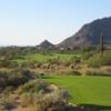 A view of a hole at Troon Country Club.