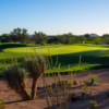 A view of the 5th hole at The Stadium Course from TPC Scottsdale.