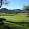 A sunny day view from Rancho Manana Golf Club.